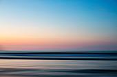 Idyllischer Meerblick bei Sonnenuntergang, Sayulita, Nayarit, Mexiko