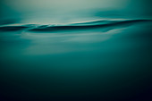 Tranquil blue water ripple