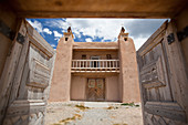 Historic Southwestern Church,Las Trampas, New Mexico, USA