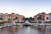Bayfront Shopping Center and Marina, Naples, Florida, USA