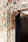 Detail von einer Tür, Oaxaca, Mexiko