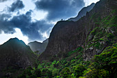 Cape Verde, Island Santo Antao, landscapes, hiking, mountains, green