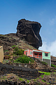 Cape Verde, Island Santo Antao, landscapes, mountains, architecture
