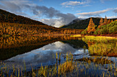 Sonniger Tag am Jack-London-See, Oblast Magadan, Sibirien, Russland