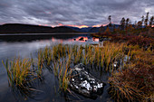 Evening at Jack London lake, Magadan region, Russia