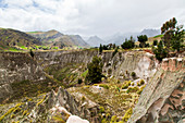 The Toachi River Canyon on Zumbahau Road near Quilotoa, Ecuador.