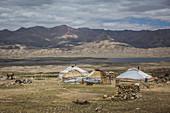 Kyrgyz settlement in Pamir, Afghanistan, Asia