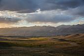 Pamir, border Afghanistan and Tajikistan, Asia