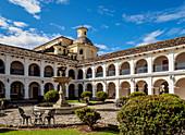 Hotel Dann Monasterio, former Saint Francis Monastery, Popayan, Cauca Department, Colombia, South America