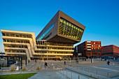 The Library, WU Campus, Vienna, Austria, Europe