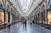 The Galerie de la Reine, Brussels, Belgium, Europe