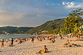 Patong Strand in Patong, Phuket, Thailand, Südostasien, Asien