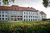 Rammler Bau, Technical University Bergakademie Freiberg, UNESCO World Heritage Montanregion Erzgebirge, Freiberg, Saxony