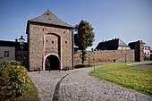 Zschopauer Tor (city gate), historic old town Marienberg, UNESCO World Heritage Montanregion Erzgebirge, Marienberg, Saxony