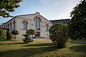 Treibehaus (ehemaliges Kupferwarenlager), Saigerhütte Grünthal, UNESCO Welterbe Montanregion Erzgebirge, Marienberg, Sachsen