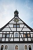 Höttenschenke in the Saigerhütte complex Gr? Nthal, UNESCO World Heritage Montanregion Erzgebirge, Marienberg, Saxony