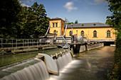 Historisches Wasserwerk am Hochablass, UNESCO Welterbe Historische Wasserwirtschaft, Augsburg, Bayern