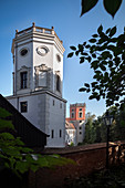 Water Towers At The Red Gate, UNESCO World Heritage Historic Water Management, Augsburg, Bavaria, Germany