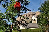 Church of Colfosco, Alta Badia, Dolomites, South Tyrol, Italy