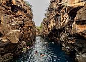 Las Grietas, Insel Santa Cruz, Galapagos, UNESCO-Welterbestätte, Ecuador, Südamerika