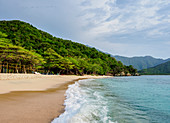 Playa Cristal, Tayrona National Natural Park, Magdalena Department, Caribbean, Colombia, South America