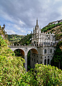 Las Lajas Sanctuary, Narino Departmant, Colombia, South America