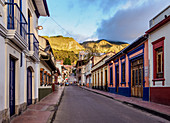 Street of La Candelaria, Bogota, Capital District, Colombia, South America
