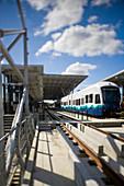 Train in Station,Seattle, Washington, United States