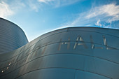 Curved Roof Line of a Modern Building,Los Angeles, California, United States