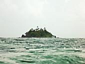 Small Island In The Ocean,Yasawa Islands, Fiji