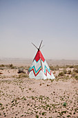 Native American Tipi Replica,Navajo, Arizona, United States
