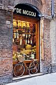Italian Delicatessen or Macelleria,Siena, Tuscany, Italy