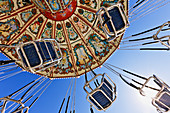 Swing Ride at the Fair,Dallas, Texas, United States