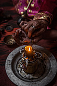 Kyrgyzstan smokes opium, Afghanistan, Asia