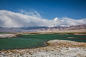 Lake Karakul in Pamir, Tajikistan, Asia