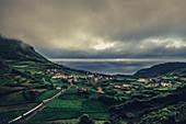 Fajazinha, Flores, Azoren, Portugal, Atlantik, Atlantischer Ozean, Europa