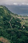 Fajazinha, Flores, Azoren, Portugal, Atlantik, Atlantischer Ozean, Europa,