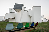 Vitra Design Museum, architect Frank O. Gehry, architecture park of the company Vitra, Weil am Rhein, Baden-Wurttemberg, Germany
