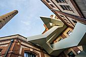 Ehemalige Brauerei, art house Werkraum, Warteck, Altstadt Kleinbasel, Basel, Kanton Basel-Stadt, Schweiz
