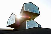 Vitra Design Museum, Architekten Herzog & de Meuron, Weil am Rhein, Baden-Württemberg, Deutschland