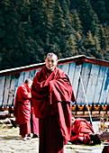 Buddhistischer Mönch, Bhutan