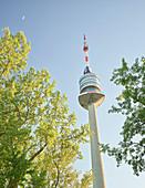 Danube Tower, Donaustadt, Donauinsel, 22nd District, Vienna, Austria