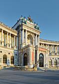 National Library, Heldenplatz, 1st district, Inner City, Vienna, Austria