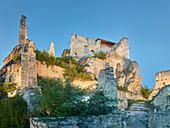 Ruin Durnstein, Wachau, Lower Austria, Austria