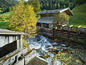 Obernberg am Brenner, mill, Seebach, Tyrol, Austria