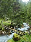 Sendersbach, Kalkkögel, Kemater Alm, Tyrol, Austria