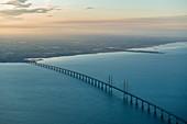 Öresundbrücke zwischen Malmö und Kopenhagen, Dänemark
