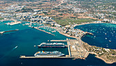 Ibiza Port, Balearic Islands, Spain