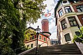 Süllberg im Treppenviertel von Blankenese, Hamburg, Norddeutschland, Deutschland