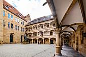 Innenhof des Alten Schlosses in Stuttgart, Baden-Württemberg, Deutschland